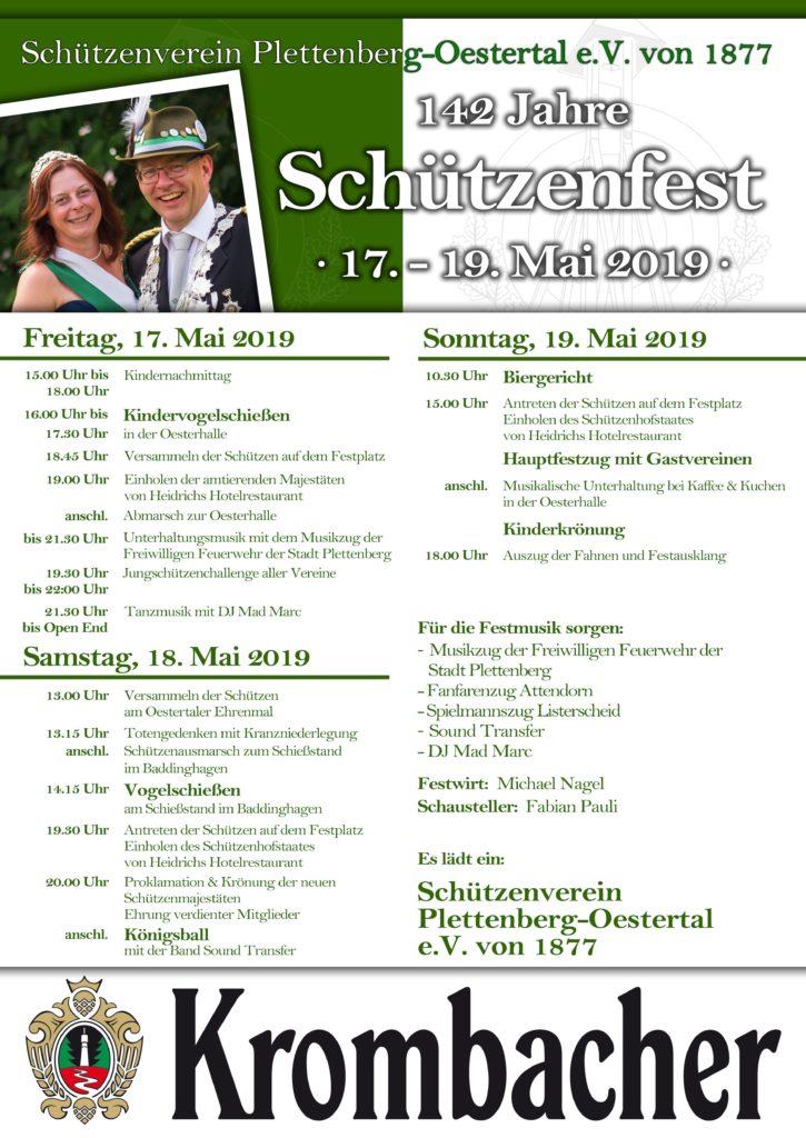 Schützenfest-Plakat